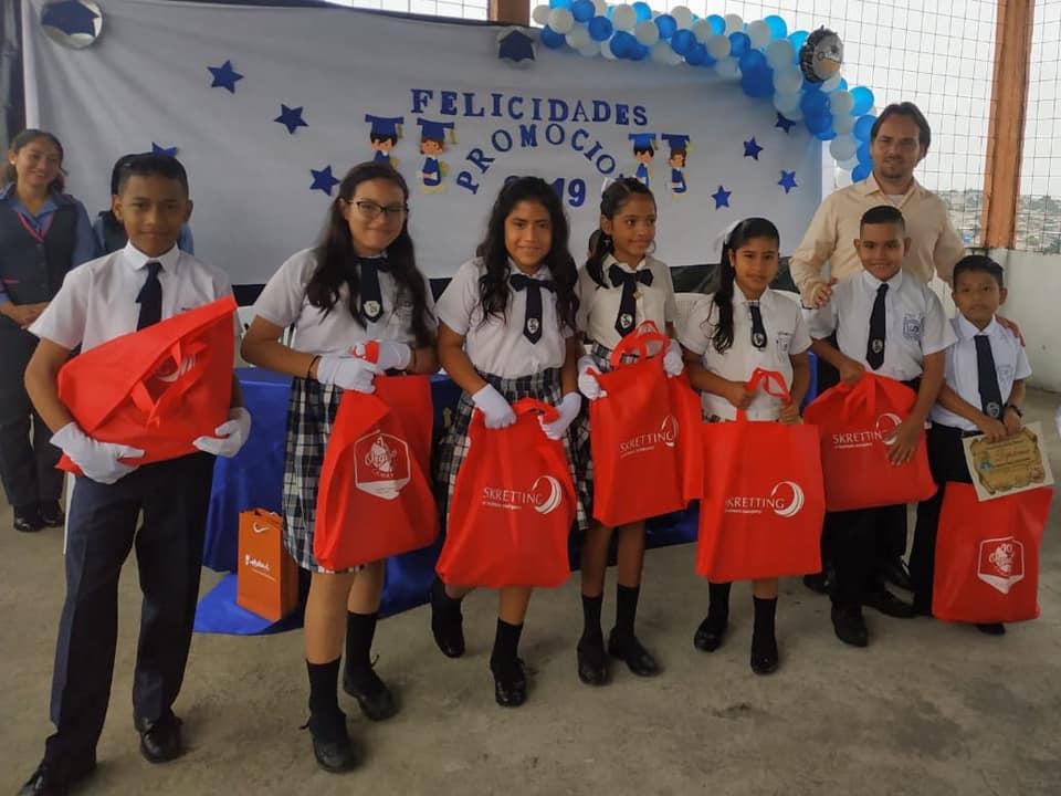Donatie laptops voor klas 7